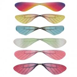 Fabric Butterfly Wings 18x44mm