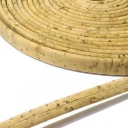Cordino di Sughero Piatto 7mm