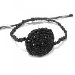 Bracelet Tricoté Demi-fini