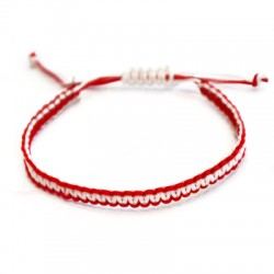 Bracelet macramé 0.7mm
