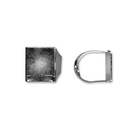 Brass Ring 20x18mm