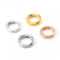 Brass Key Ring Round 22mm
