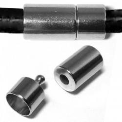 Brass Clasp Tube 9x20mm Ø 8mm