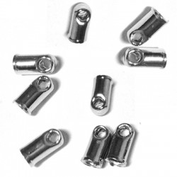 Μετ. Μπρούτζινος Ακροδέκτης Τελείωμα Κούμπωμα 3x6mm (Ø2.2mm)