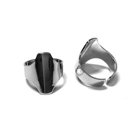 Mεταλλικό Ορειχάλκινο Μπρούτζινο Δαχτυλίδι 20x6mm