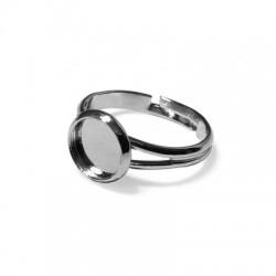 Mετ.Ορειχάλκινο Μπρούτζινο Δαχτυλίδι Στρογγυλό Δαχτυλίδι 8mm