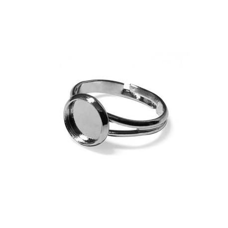 Brass Ring Round 8mm