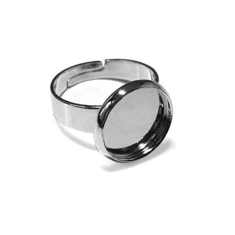 Brass Ring Round 12mm