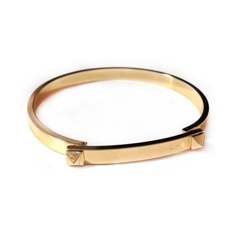 Brass Bracelet ECO 58mm with Clasp
