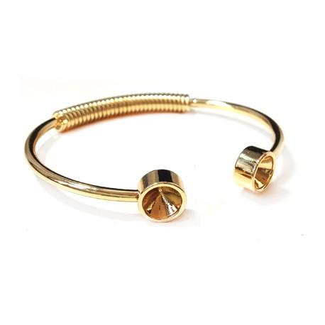 Bracelet Eco en Métal/Laiton 58/2,5mm