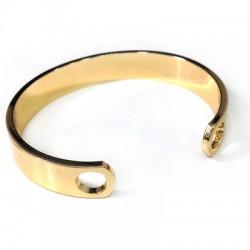 Brass Adjustable Bracelet ECO 59mm with 2 Holes