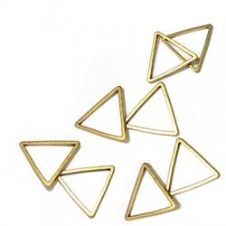 Μεταλλικό Μπρούτζινο Στοιχείο Περίγραμμα Τρίγωνο 7x0.8mm