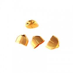 Μετ.Μπρούτζινος Ακροδέκτης Τελείωμα 11x7x4.5mm (Ø10.2x3.5mm)