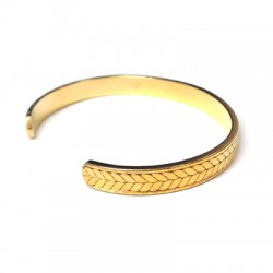 Brass Adjustable Bracelet ECO Base 68x52mm