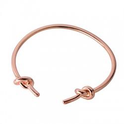 Brass Bracelet Knots 59x3mm