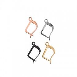 Brass Ear Hook 10x16mm