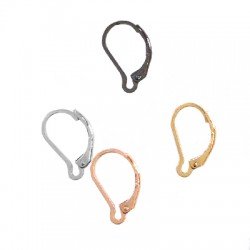 Brass Ear Hook 10x14mm