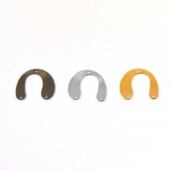 Brass Part 20x25mm w/ 2 Loops