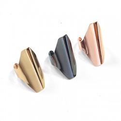 Μεταλλικό Ορειχάλκινο (Μπρούτζινο) Δαχτυλίδι 20x35mm
