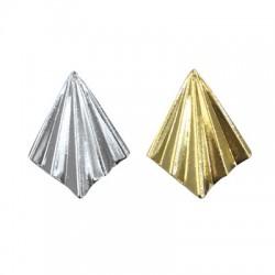 Brass Pendant 27x35mm
