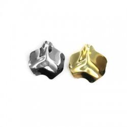 Brass Irregular Pendant 24x28mm