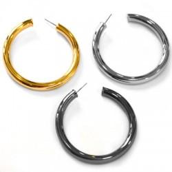 Brass Earring 60/6mm