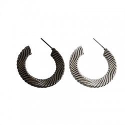 Brass Earring 37mm