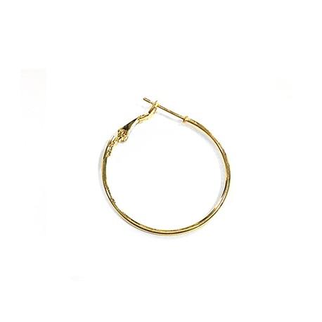 Steel Earring Round 30mm/1.2mm