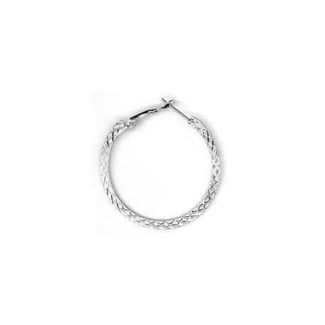 Steel Earring Round 3.1x40mm