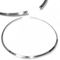Collana in Filo di Metallo Acciaio 3.6mm (diametro 142mm)