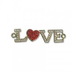 "Z/A ""LOVE"" 51x13mm"