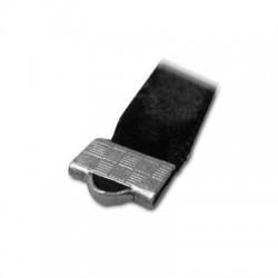 Μεταλλικός Μπρούτζινος Ακροδέκτης Κούμπωμα Επίπεδο 10mm