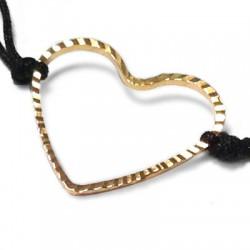 Brass Heart 19x21mm