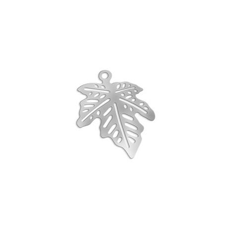 Brass Filigree Leaf (Lase Cut) 22x18..