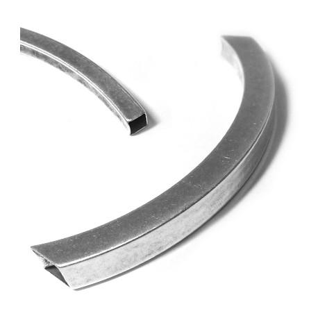 Μεταλλική Μπρούτζινη Κυρτή Μπάρα 10x10mm/113mm  (Ø9x7mm)