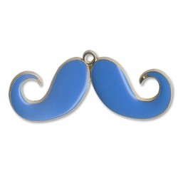 Z/A Enamel Moustache 68*26mm