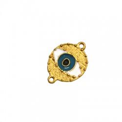 Zamak Connector Eye w/ Enamel 17x19mm