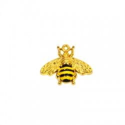 Zamak Pendant Bee w/ Enamel 30x24mm