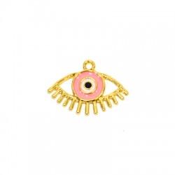 Zamak Pendant Eye w/ Enamel 23x15mm