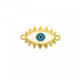 Zamak Connector Eye w/ Enamel 23x18mm