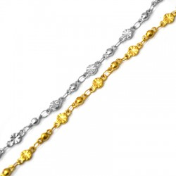 Stainless Steel 304 Chain Flower 4mm/3mm