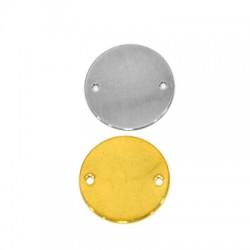 Stainless Steel 304 Στοιχείο Στρογγυλό για Μακραμέ 20mm