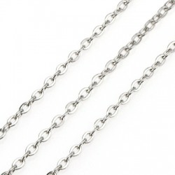Stainless Steel 304 Chain 1.7x2mm/0.4mm