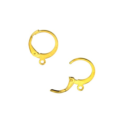 Stainless Steel 304 Earring Round 12mm