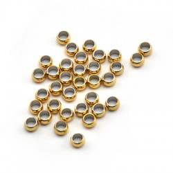 Stainless Steel 316 Crimp Bead 4mm (Ø2.4mm)