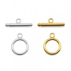Stainless Steel 304 T-Clasp Round 14mm (Bar 22mm)