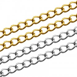 Stainless Steel 304 Chain 4x5mm/0.8mm