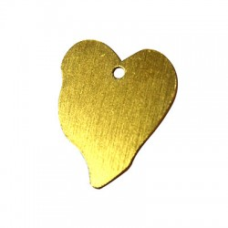 Aluminium Pendant Heart 30x37mm