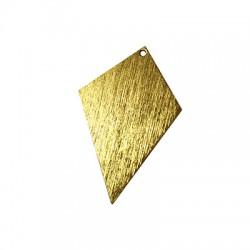 Pendentif diamant en Aluminium 33x51mm