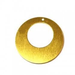 Pendentif rond en Aluminium 50mm